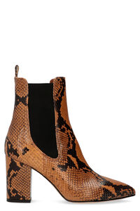 Leather ankle boots, Ankle Boots Paris Texas woman