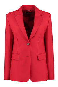 Fune wool single-breasted blazer, Blazers Max Mara Studio woman