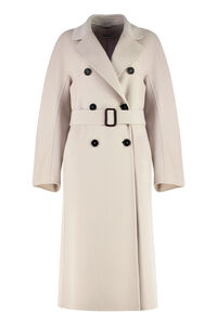 Ronnie double-breasted virgin wool coat, Double Breasted S Max Mara woman