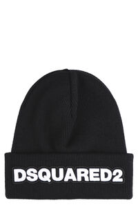 Logo wool beanie, Hats Dsquared2 man