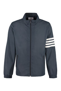 Techno nylon windbreaker-jacket, Raincoats And Windbreaker Thom Browne man