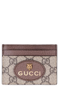 Neo Vintage GG Supreme fabric card holder, Wallets Gucci man
