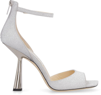 Reon 100 glitter ankle-strap sandals