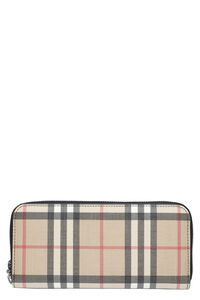 Zip-around wallet, Wallets Burberry woman
