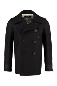 Wool blend peacoat, Peacoats Dsquared2 man