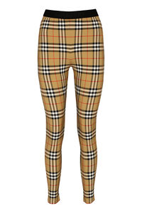 Vintage check leggings, Leggings Burberry woman