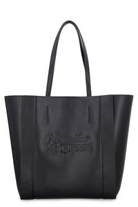 Signature leather tote, Tote bags Alexander McQueen woman
