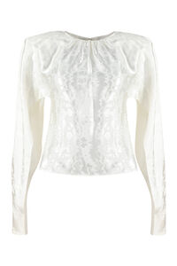 Long sleeve crop top, Blouses The Attico woman