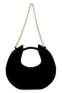 Luna suede bag, Top handle by FAR woman