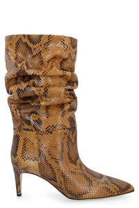 Leather pointy-toe boots, Heeled Boots Paris Texas woman