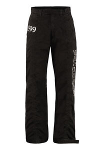 Cotton cargo-trousers, Casual trousers Off-White man