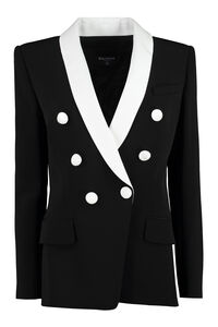 Double breasted blazer, Blazers Balmain woman