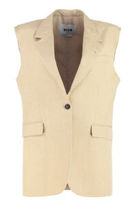 Sleeveless jacket, Blazers MSGM woman