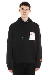 Logo detail cotton sweatshirt, Hoodies Heron Preston man