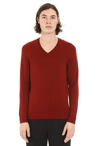 V-neck wool sweater, V-necks Drumohr man