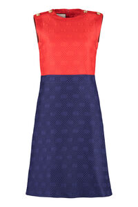 Jacquard dress, Knee Lenght Dresses Gucci woman