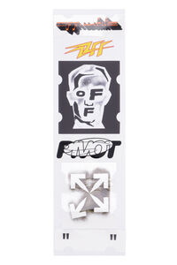 Masked Face Stickers Set, Lifestyle Off-White man
