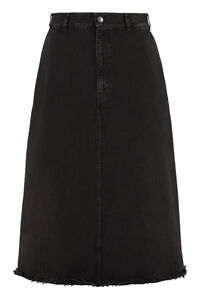 Denim skirt, Denim Skirts Balenciaga woman