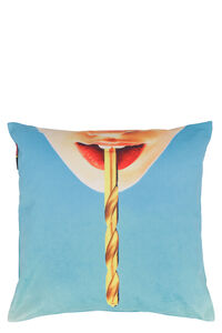Drill cushion - Seletti wears Toiletpaper, Home accessories Seletti woman