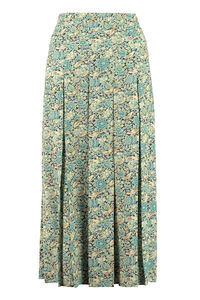 Gucci Liberty floral print pleated skirt, Pleated skirts Gucci woman
