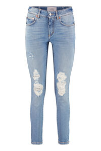 5-pocket jeans, Skinny Leg Jeans Givenchy woman