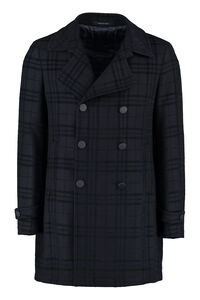 Charlie double-breasted coat, Overcoats Tagliatore man