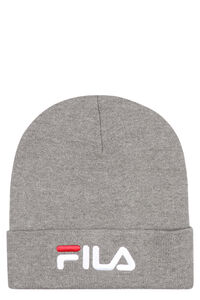 Ribbed knit beanie, Hats Fila woman