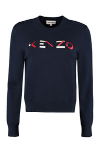 Crew-neck wool sweater, Crew neck sweaters Kenzo woman