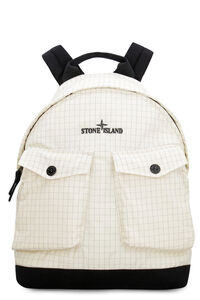 Technical fabric backpack, Backpack Stone Island man