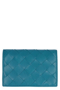 Leather card holder, Wallets Bottega Veneta woman