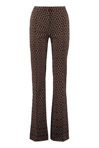 Hulka flared trousers, Flared pants Pinko woman