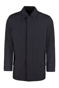 Jacket with zip and button fastening, Raincoats And Windbreaker Z Zegna man