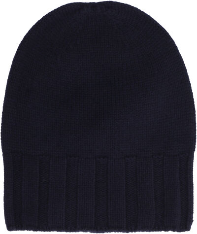 Cashmere jersey hat