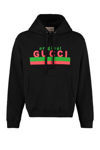 Logo cotton hoodie, Hoodies Gucci woman
