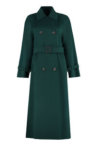 Potente double-breasted virgin wool coat, Double Breasted Weekend Max Mara woman