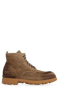 Suede ankle boots, Lace-up boots Doucal's man