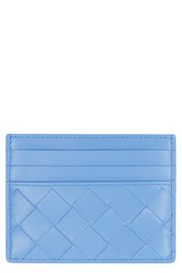 Intrecciato card case, Wallets Bottega Veneta woman