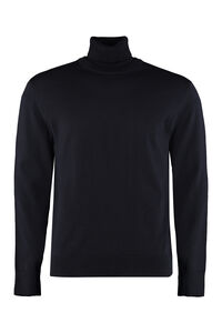 Grato turtleneck virgin-wool pullover, Turtleneck BOSS man