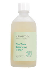 Tea tree balancing toner, 130 ml/4.3 fl oz, Cleansers & exfoliators Aromatica woman