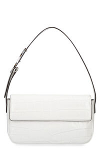 Tommy croco-print leather bag, Top handle STAUD woman