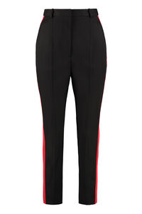Virgin wool trousers, Trousers suits Alexander McQueen woman