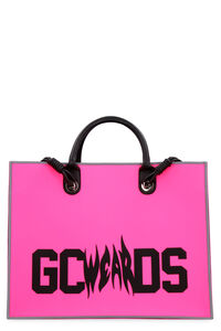Logo detail tote bag, Tote bags GCDS woman
