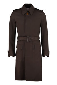 Cotton trench coat, Raincoats And Windbreaker Bottega Veneta man