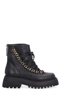 Ines leather ankle boots, Ankle Boots Alevì woman