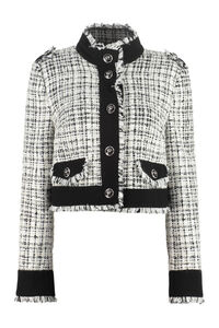 Cotton blend tweed jacket, Casual Jackets Dolce & Gabbana woman