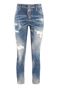 Cool Girl jeans, Straight Leg Jeans Dsquared2 woman