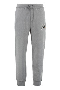BOSS x Russell Athletic - Logo detail cotton track-pants, Track Pants BOSS man