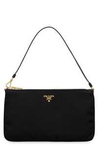 Nylon clutch, Clutch Prada woman