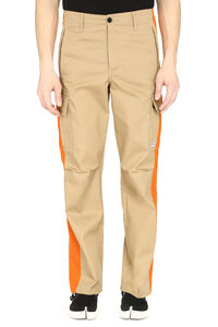 Gabardine cargo trousers, Casual trousers MSGM man