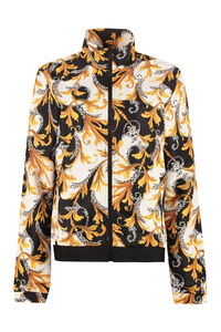 Printed nylon windbreaker-jacket, Raincoats And Windbreaker Versace woman